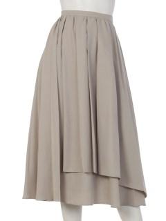 モダールラップギャザースカート