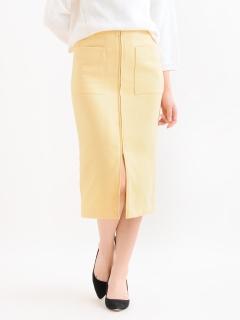 フープジップポケットタイトスカート