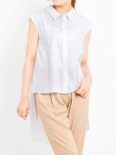 バックロングフレンチシャツ