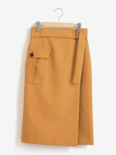 ミリタリーラップスカート