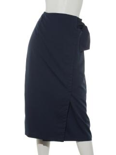 サイドリボンタイトスカート