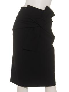 ACUTAフロントリボンタイトスカート