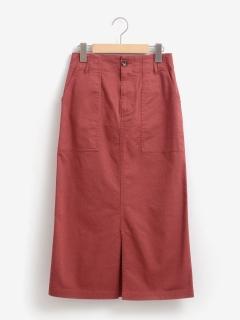 チノストレッチタイトスカート