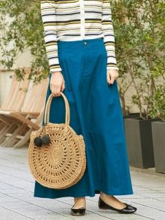 カラーチノフレアマキシスカート
