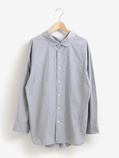 ジムフレックスストライプビッグシャツ