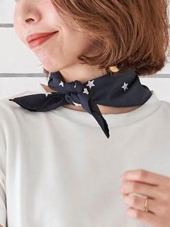 星柄スカーフ