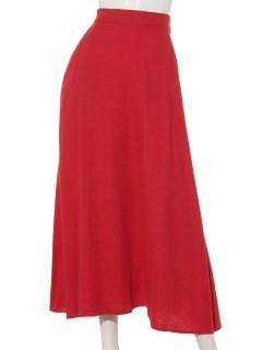 #綿麻レーヨンフレアマキシスカート