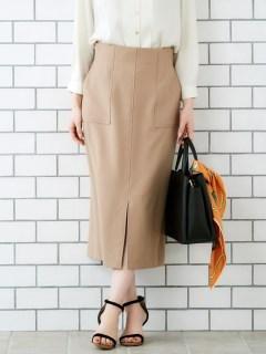 ハイウエストポケットタイトスカート