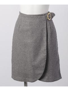 サイドバックルIラインスカート