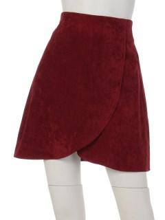 パンツタイプ裏地付きAラインスカート