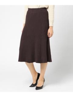 Tリブフレアースカート