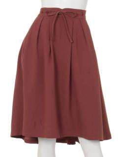 細リボン付イレギュラーヘムスカート