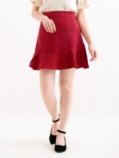 裾フリルスカート