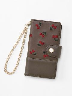 cherryハートモバイルケース