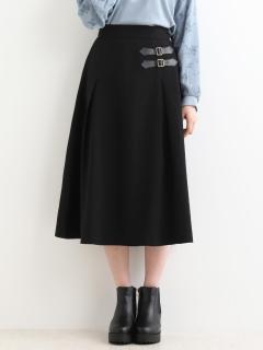 ダブルベルトスカート