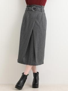 スペアベルト付Iラインスカート