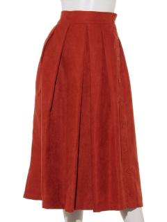 サイド釦ロングスカート