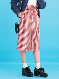 パールボタンIラインスカート