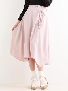 ハンカチーフヘムリボンスカート