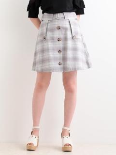トレンチライクAラインスカート