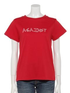 ロゴ手書きTシャツ