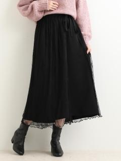 ラップチュールセットスカート