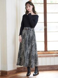 アソートパターンロングスカート