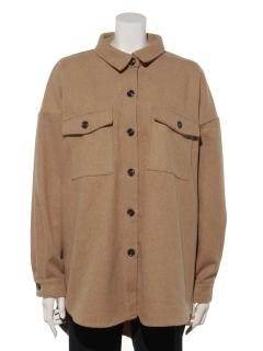 フェイクメルトンオーバーサイズジャケット