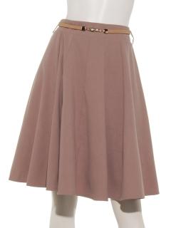 パールベルト付スカート