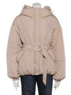ベルト付ナカワタショートジャケット