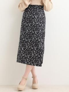 ウエストフリルIラインスカート