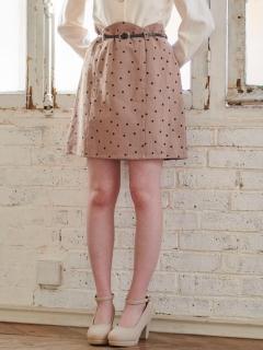 スカラップベルト付スカート