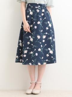 Daisyプリントスカート◇