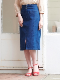 リングファスナーIラインスカート♪