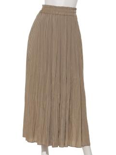 ケシプリーツロングスカート