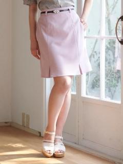 ベルト付ミニスカート
