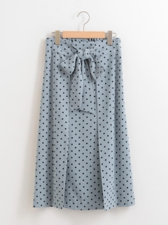 ドットIラインスカート