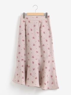 ヴィンテージフラワースカート