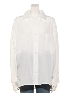 コットンライクユルシャツ