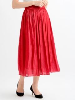 グロッシーロングスカート