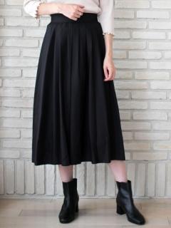 マイクロスパンタックフレアースカート