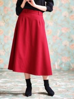 フレアーロングスカート