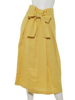 ツイルリボンタイトスカート