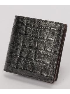 ヘンローン社クロコ 折財布