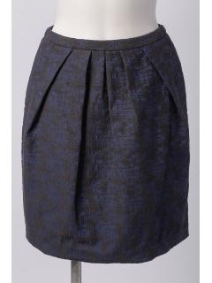 幾何学コクーンスカート