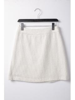ツィード台形スカート