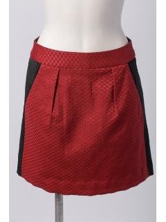 PHILEA幾何学柄ジャガードスカート