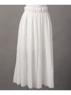 ギャザー カットスカート