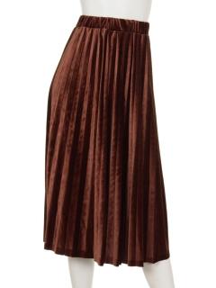 ストライプ柄フレアスカート