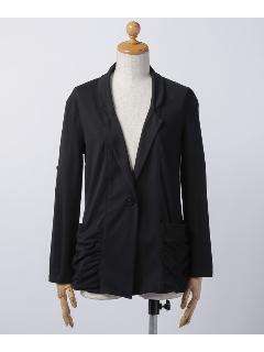 袖ロールアップ テーラードジャケット